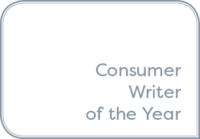 Consumer Writer of the Year