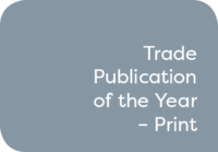 Trade Publication of the Year – Print