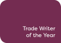 Trade Writer of the Year