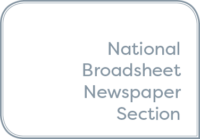 National Broadsheet Newspaper Section of the Year