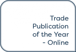 Trade Publication of the Year — Online